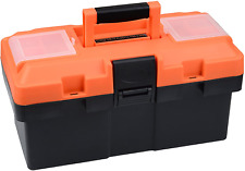 Plastic Tool Box 14 Inch Portable Tool Box Plastic Toolbox With Removable Tool