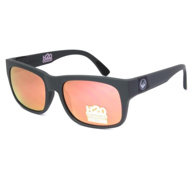 Dragon POLARIZED TAILBACK H2O Sunglasses - Matte Magnet with Grey Rose 29390-036