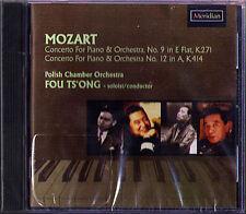 FOU TS'ONG: MOZART Piano Concerto 9 & 12 Polish Chamber CD 2004 Klavierkonzerte