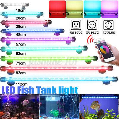 18 112CM WEISS+BLAU RGB LED Aquarium Beleuchtung