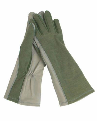 Mil-Tec US pilote Gants flammh Olive doigt gant gant