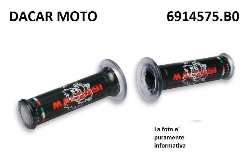 2 2 Handgriffe schwarz mit mit mit Logo Malossi Stammes- Schließen alle Fahrzeuge ed1bd9