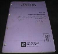 Werkstatthandbuch Peugeot 306 Motor Mehrfacheinspritzung Magneti Marelli 8P LFZ!