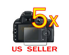 5x Nikon Digital SLR D3200 Camera LCD Screen Protector Cover Guard Shield F