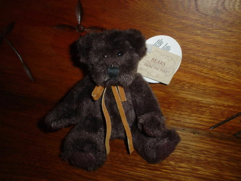 Russ Bears from Past Miniature marrone Bear Retirosso 1796