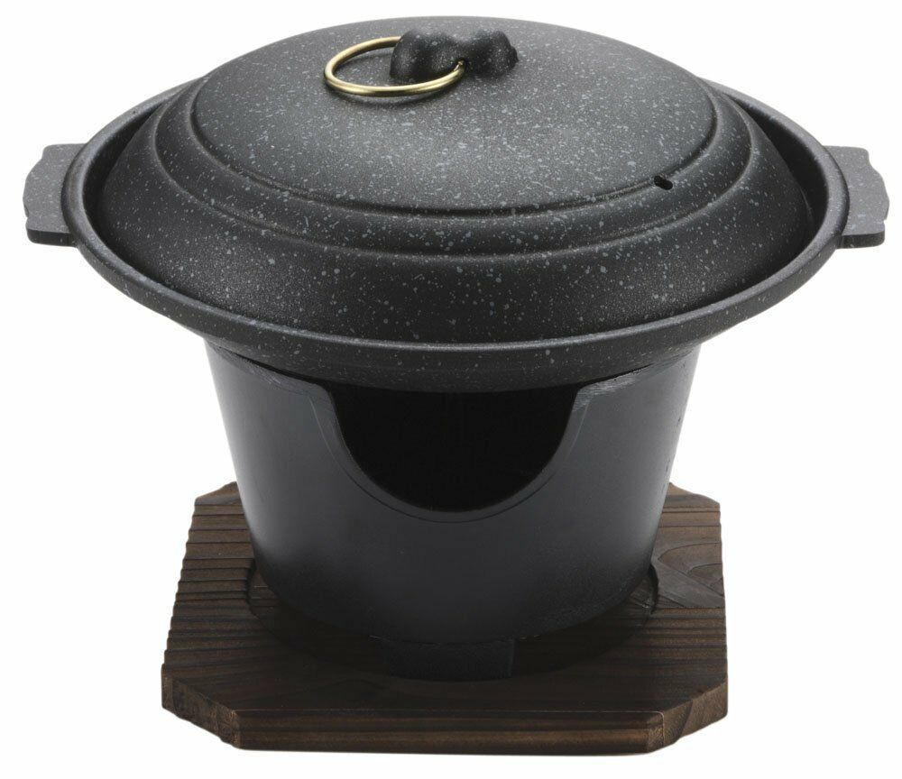 Japanese Cooking Pan Irori NABE 17cm with Stand from Japan H-5362