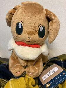 Ichiban kuji Pokemon Eevee /& Colorful Art Plush doll Japan Last One prize