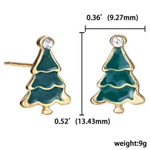 Fashion Christmas Earrings Women Drop Dangle Earrings New Year Jewelry Gift New