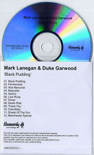 MARK LANEGAN & DUKE GARWOOD Black Pudding 2013 UK 12-trk promo test CD