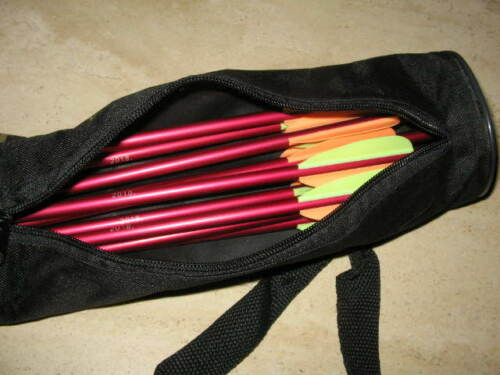 SET: 40 aluminum bolts 14+ back quiver + wax + crossbow arrow