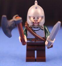 LEGO® LORD OF THE RINGS™ custom ROHAN Soldier™ Minifigure Axe Sword Sheath Ver 5