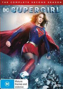 Supergirl-Season-2-NEW-DVD-Region-4-Australian-Official-Release