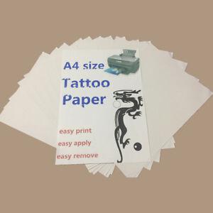 New Temporary Tattoo kit Transfer Paper DIY Inkjet Waterproof Tattoo A4 Size