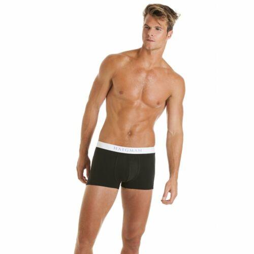 Haigman Hommes Hipster noir et blanc coffre style Boxershort Caleçon