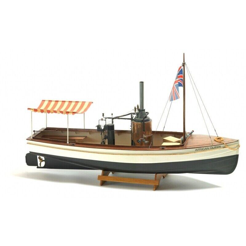 Bilings 1 12 B588 African Queen träen modell Ship Kit