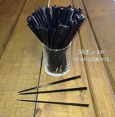 """Pack of 1000 Arrow Pick 3.5/"""" BLACK Cocktail Olive Pick Party"""