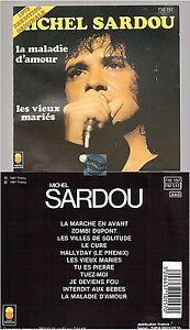 MICHEL-SARDOU-1973-CD-ALBUM-pressage-de-1987