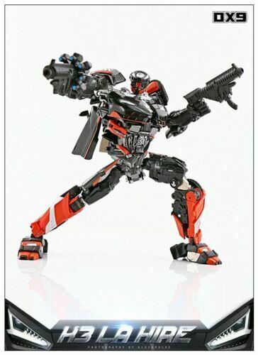 En Stock juguete de Transformers DX9 Soul serie K3 la contratar Hot Rod Rodimus