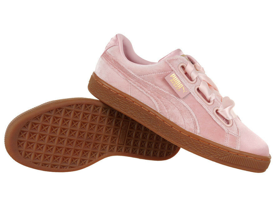 Women's Puma Basket Heart VS shoes Pink Everyday Trainers