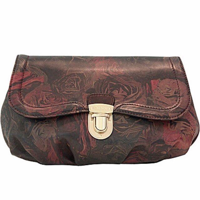 Paul Smith Clutch Bag Carly Black Rose
