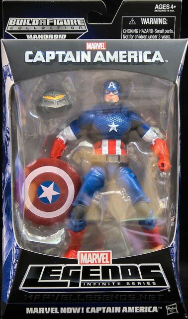NEW Marvel Legends Infinite Series Captain America The Winter Soldier Figures