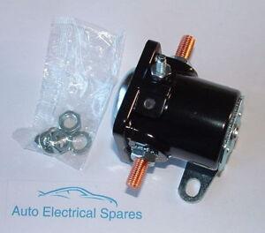 UNIVERSAL-6-volt-6V-STARTER-MOTOR-solenoid-3-terminal-CLASSIC-CAR