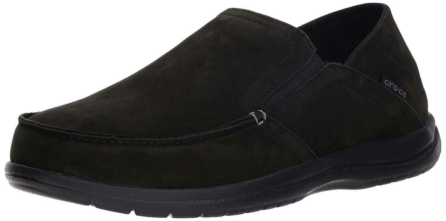 Crocs Men's Santa Cruz Converdeible Leather Slip -On Lofer -  Scelga SZ  Coloreee  stanno facendo attività di sconto