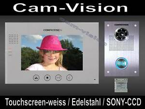 "16-melodie Video Campanello appendice 7"" - Touch Monitor 110 ° Wide Sony fotocamera CMOS 							 							</span>"