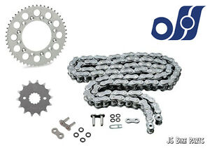 Suzuki GSF600 S Bandit 95-99 Heavy Duty O-Ring Chain and Sprocket Kit