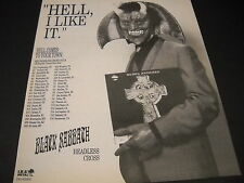BLACK SABBATH Hell I Like It May 31 - July 16, 1989 TOUR DATES Promo Display Ad