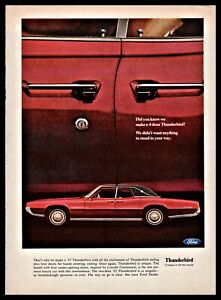 1967-FORD-THUNDERBIRD-4-door-Classic-Car-Photo-AD