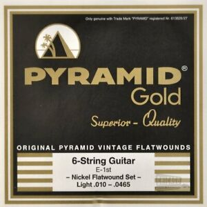 Pyramid-Gold-Flatwound-Light-Electric-Guitar-Strings-10-465