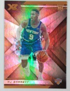 2019-20 Panini Chronicles XR Bronze RJ Barrett Rookie RC #273, Knicks, Parallel