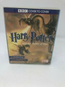 Harry-Potter-and-the-Goblet-Of-Fire-Audio-Book-Cassettes-Unabridged-Stephen-Fry