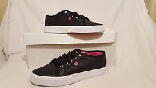 OSIRIS SHOES MITH BLK SPARKLE WOMENS GIRLS SIZE UK 4.5 NEW UNBOXED US 7 EUR 37.5