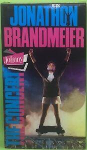Details about JONATHON BRANDMEIER: JOHNNY THE CONCERT VHS 1988 LIVE  Includes Johnny B Classics