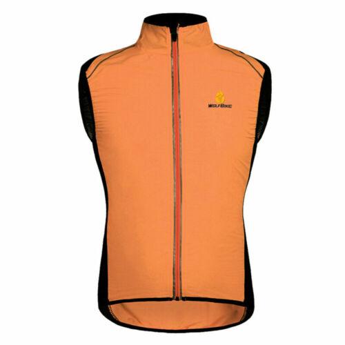 Mens Team Cycling Vests Cycling jerseys Windproof vest Cycling Sleeveless Jersey