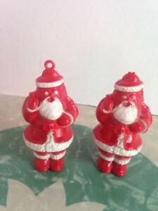 Plastic 1950/'s Santa