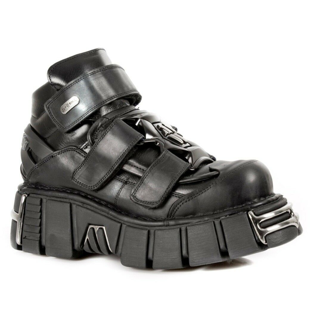NEWROCK NR M.285 S1 Black - New Rock Boots - Unisex
