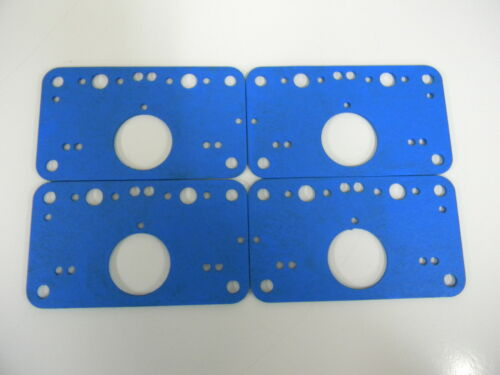 Holley QFT AED CCS Racing Metering Block Gasket Part Pack of 4