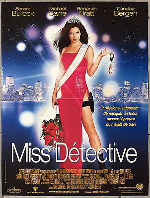 Poster Miss Detective Miss Congeniality Sandra Bullock 15 11 16x23 5 8in Ebay