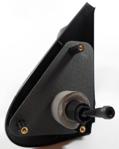 For Peugeot Partner Van 1996-2008 Cable Wing Door Mirror Black Drivers Side O//S
