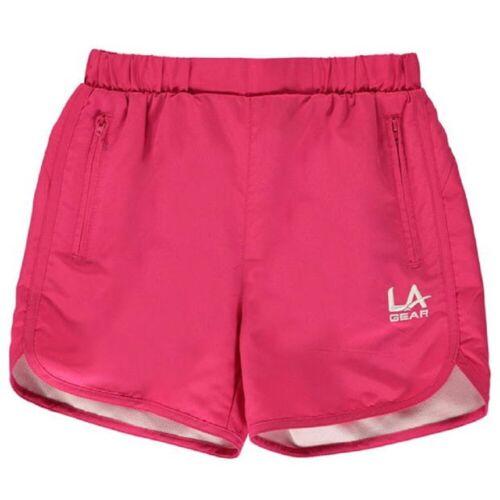 Girls LA GEAR Sports Shorts Fitness Gym Running Leisure Dance Junior Cycling