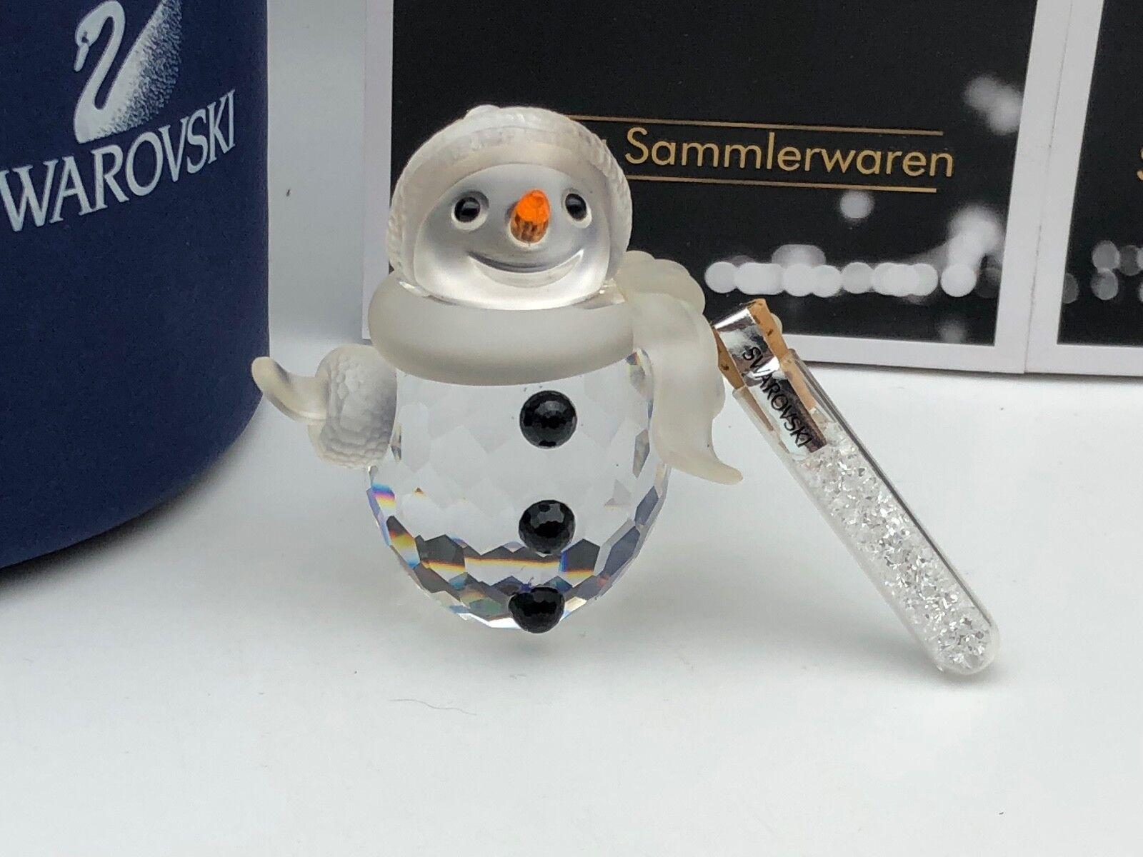vendita all'ingrosso SWAROVSKI Figura Figura Figura 250229 padre pupazzo di neve 5,7 cm. con OVP & certificato.  risparmia fino al 50%