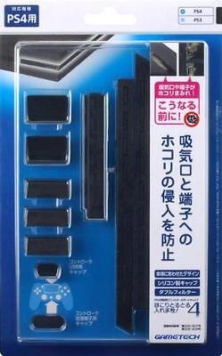 PS4 for filter & Cap Set dust Torutoru Dustproof! 4 (Black) Japan Import