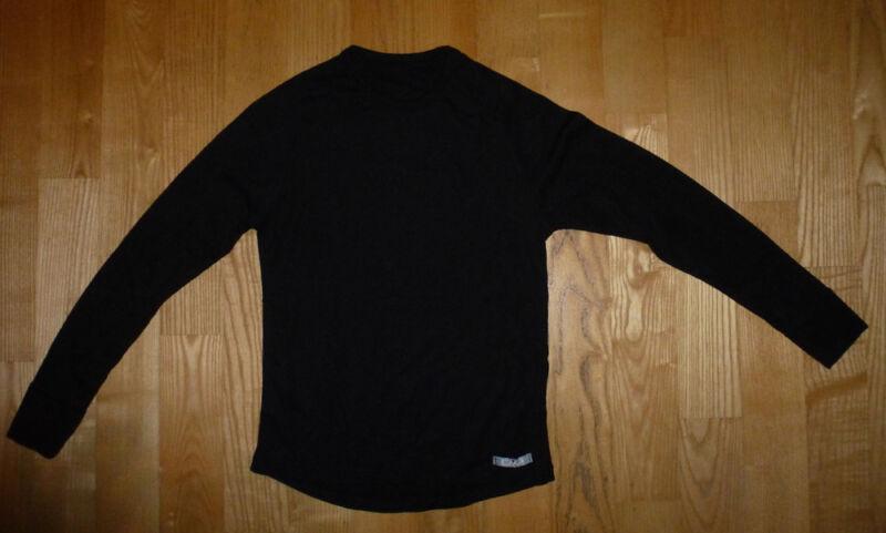 Funktionswäsche/ski-unterhemd Gr. 140 In Schwarz -guter Zustand-