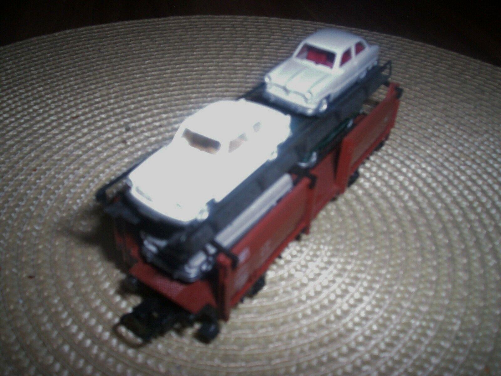 HO Märklin Märklin Märklin Autotransporter mit 4 Oldtimer ( Bitte Fotos beachten )    Bequeme Berührung  99796f