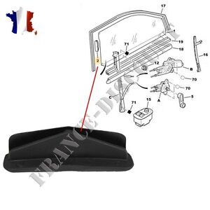 clips guide leve vitre peugeot 306 3 ou 5 portes 922723 ebay. Black Bedroom Furniture Sets. Home Design Ideas