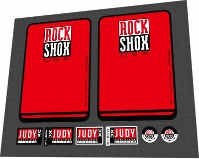 ROCKSHOX Judy FSX 1998 Fork Sticker Decal Set