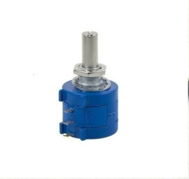 2PCS 3590S-2-103L 10K Ohm Rotary Wirewound Precision Potentiometer Pot 10 Turn